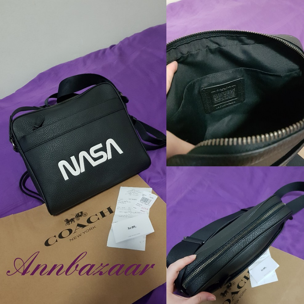 SPECIAL OFFER! Coach Charles Camera  Sling  Crossbody Bag in NASA ... 2403b2825c06b
