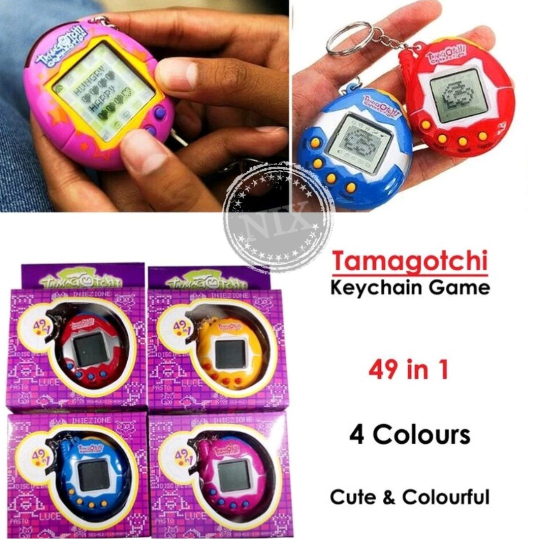 Tamagotchi Connection Virtual Pet Game Keychain fd1f44ac5
