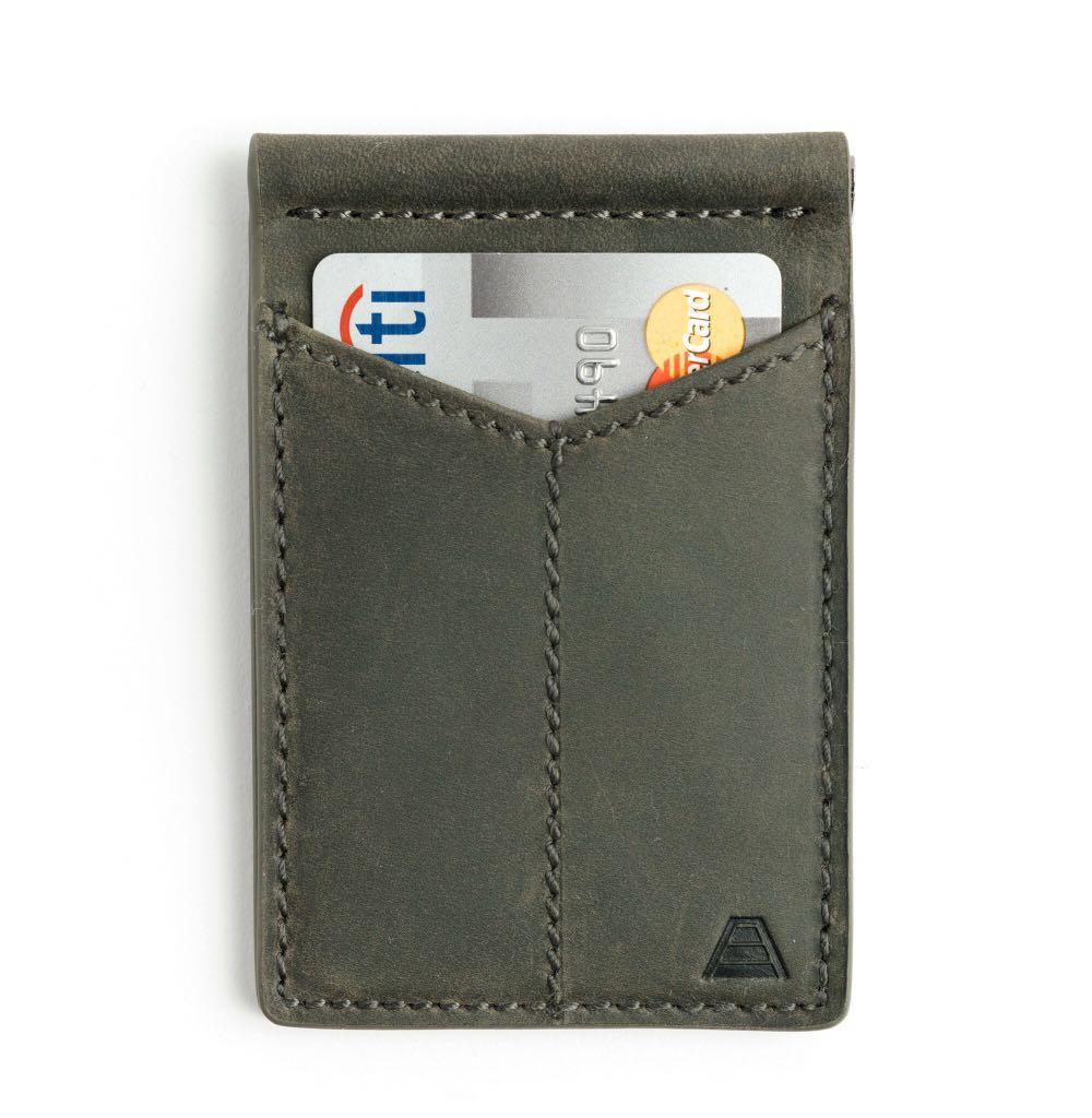 The Baron by Andar Wallet, slim rfid Blocking money clip wallet