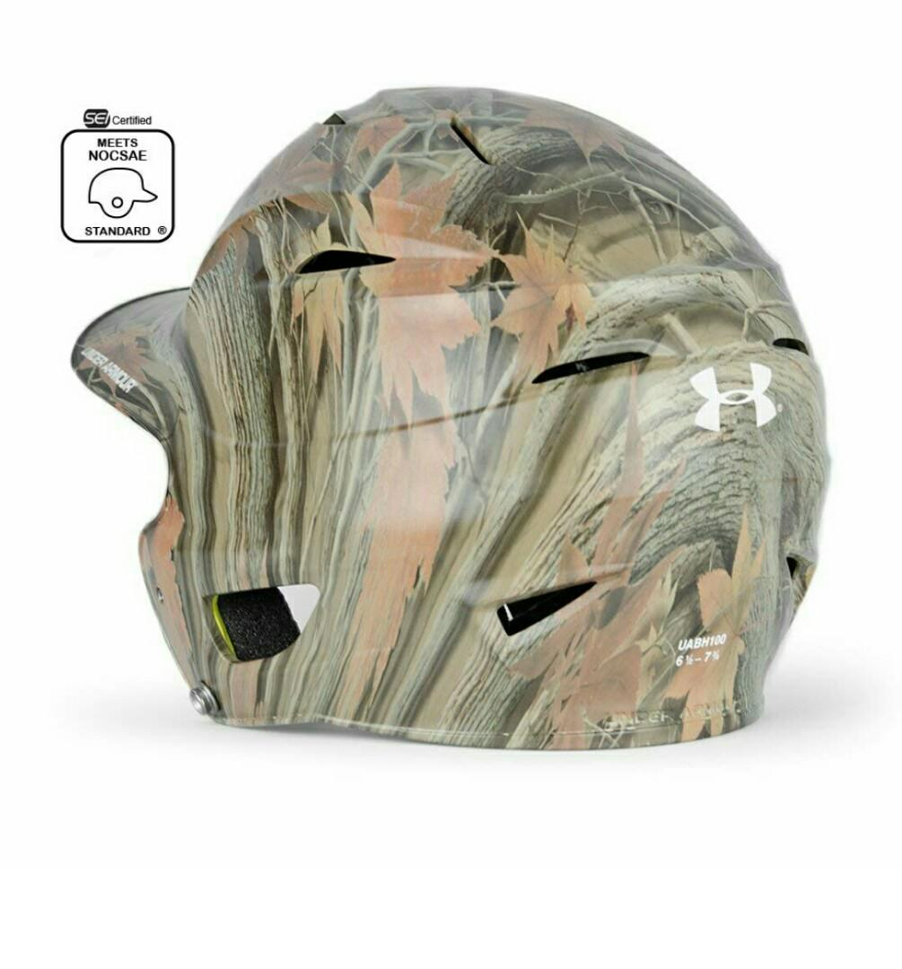 Under Armour Matte Hunter/'s Camo Adult Baseball Batting Helmet