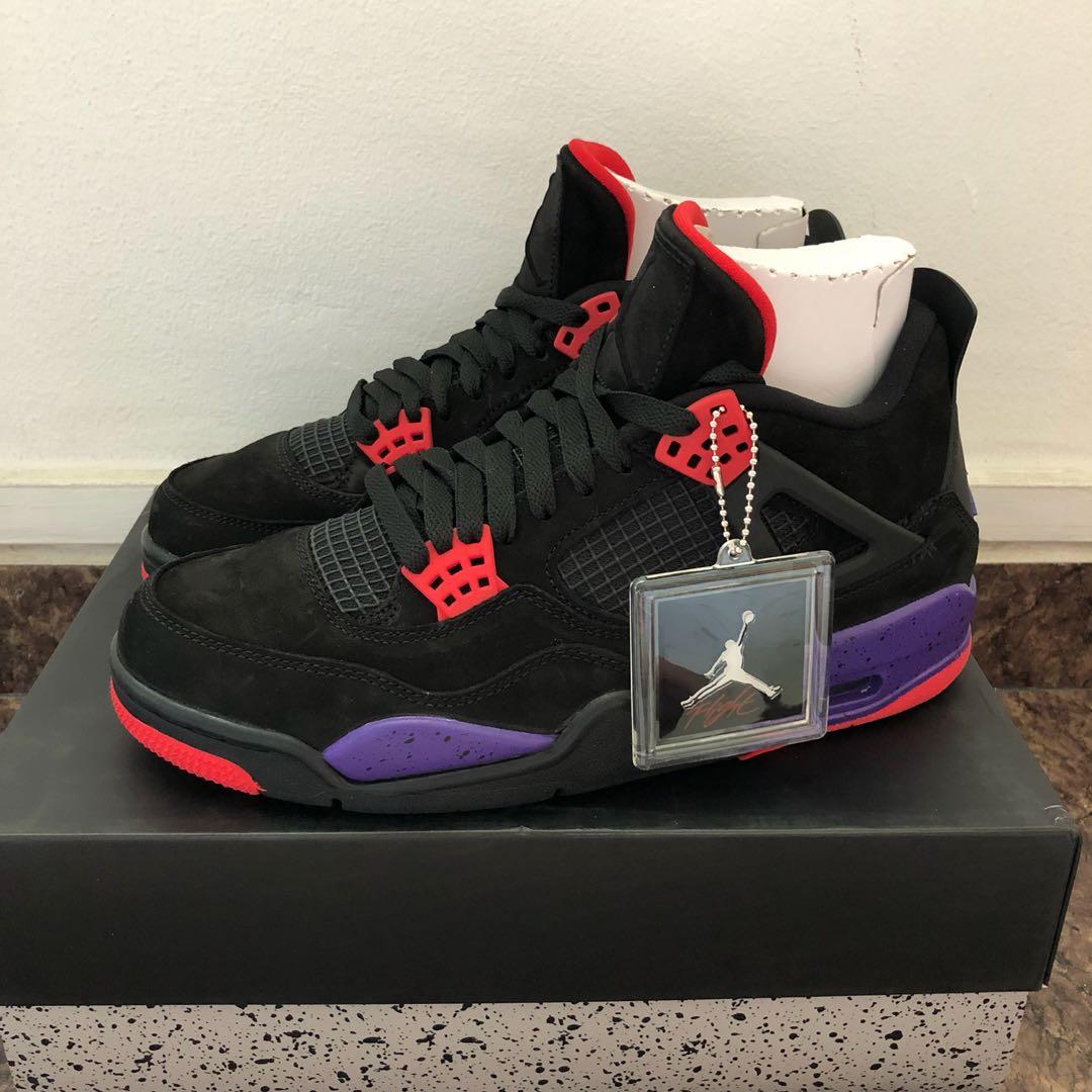 53716a6926ed88 US9   9.5 Jordan 4 Raptors