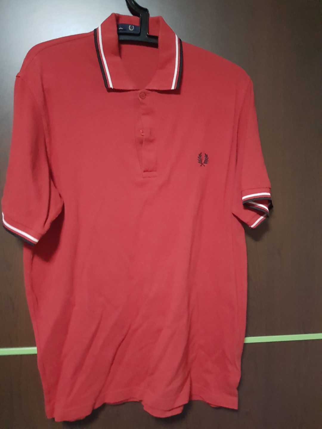 414a0633 WTs used Fred Perry Polo Tee (L), Men's Fashion, Clothes, Tops on ...