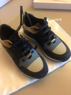 Dior boy's leather shoes