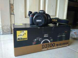 DSLR NIKON D3100 16-55 Lens Kit