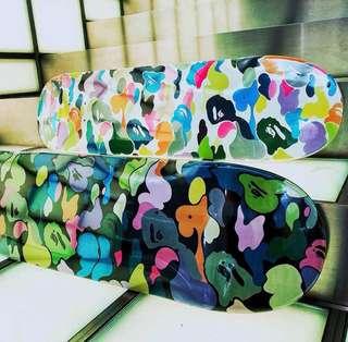 <1 LEFT> Bape Skate Deck skateboard Louis Vuitton Fendi Offwhite Bogo Box Logo ASSC ANTISOCIALSOCIALCLUB NMD YEEZY KANYE PABLO ADIDAS BAPE GIVENCHY CHANEL MMJ MASTERMIND Bape Stussy Fragment Zebra V2 Vlone GUCCI Bearbrick Bearbrick1000 Visvim Birkin