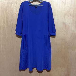 Kamiseta Royal Blue Dress