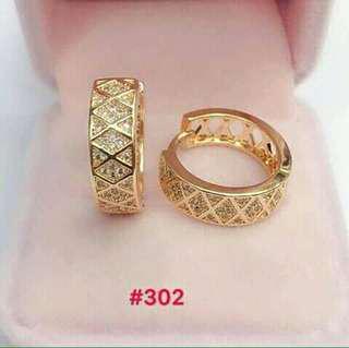 Earrings Rose gold