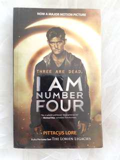 """I am Number Four"" Novel by Pittacus Lore"
