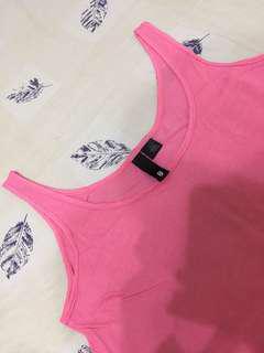 🚚 H&M 粉紅色背心