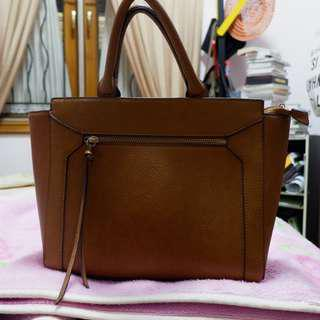 Stradivarius Brown Bag