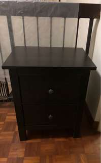 Bedside Table/2 tiers drawers