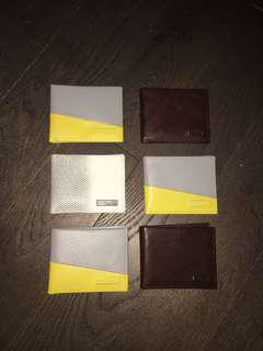 New Calvin Klein wallets with tags