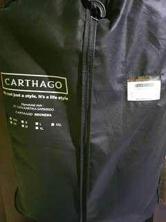 Jas carthago bahan wool dark brown