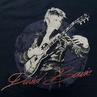David Bowie T恤  David Bowie tee