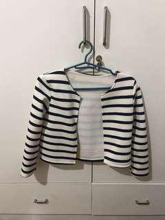 Stripe Blazer/Coat