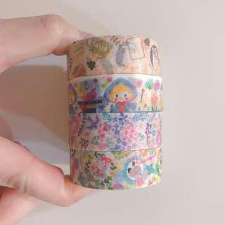 (分裝)日本papier platz 多款 紙膠帶