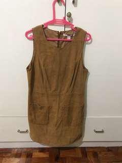 Forever 21 Corduroy Dress Brown