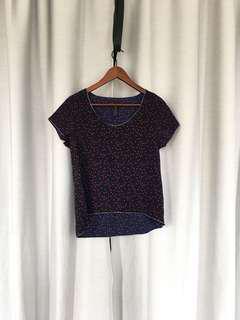 Cute Star Print shirt (XS/S)