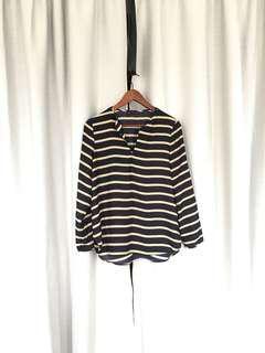 Zara Striped Top (Medium)