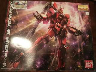 MG build fight Amazing Red Warrior 驚異紅戰士