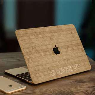 Wood Macbook Cover