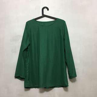 Glitter Green Blouse