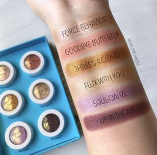 Colourpop Pretty Fly Super Shock Shadow Spring Collection