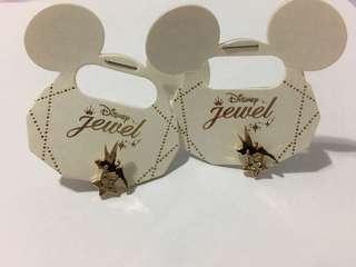 (購自日本) Disney Jewel 耳環一對