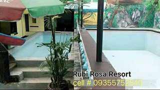 Rubi Rosa Private Pool Resort for Rent in Pansol Calamba Laguna