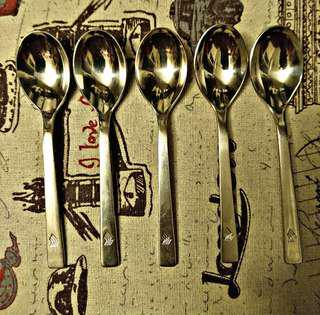 LIMITED SINGAPORE AIRLINES HEPP SET OF COFFEE SPOON