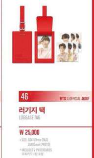 [SHARING] BTS Love Yourself World Tour Luggage Tag