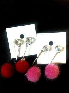 Earrings for 2 pairs