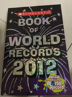 Book of World Records 2012