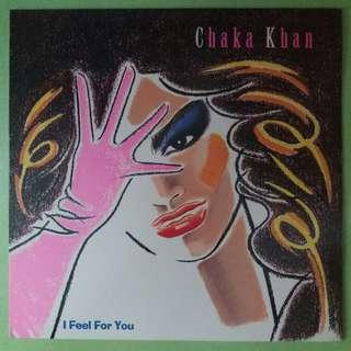 """【舊版""""Electronic, Funk / Soul, Pop""""黑膠唱片】Chaka Khan ~ I Feel For You (1984 US)"""