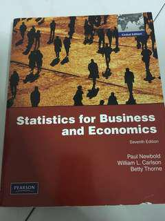 Statistics For Business And Economics (7th Edition)