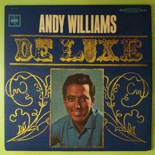 "【舊版""Pop, Stage & Screen""黑膠唱片】Andy Williams ~ De Luxe (1966 Japan)"