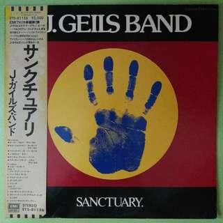 "【舊版""Rock, Blues""黑膠唱片】The J. Geils Band ~ Sanctuary. (1978 Japan)"