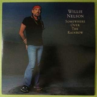 "【舊版""Jazz, Pop""黑膠唱片】Willie Nelson ~ Somewhere Over The Rainbow (1981 Japan)"
