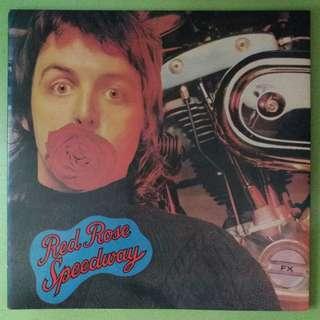 """【舊版""""Rock, Pop""""黑膠唱片】Wings ~ Red Rose Speedway (1975 Japan)"""