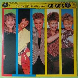 "【舊版""Rock, Pop""黑膠唱片】Go-Go's ~ Talk Show (1984 Japan)"