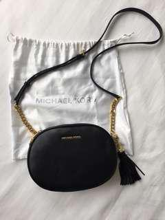 NWT Michael Kors black crossbodg
