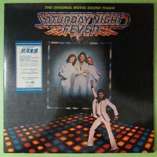 "【舊版""Electronic, Funk / Soul, Pop, Stage & Screen""黑膠唱片】Saturday Night Fever (The Original Movie Sound Track)(1977 Singapore, Malaysia & Hong Kong)"