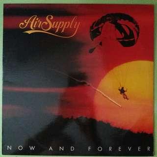 """【舊版""""Pop""""黑膠唱片】Air Supply ~ Now And Forever (1982 Singapore, Malaysia, Hong Kong)"""