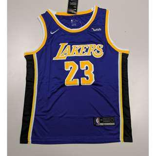 NBA LA Lakers 2018-19 NEW PURPLE KIT