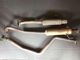 APEXi N1 Revolution Exhaust System