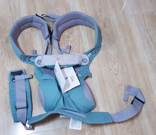 Brand new ergobaby 360 baby carrier cool air - icy mint