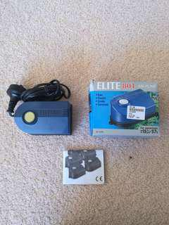 Elite 801 air pump for aquariums 57L