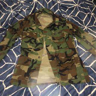 US army jacket oversized