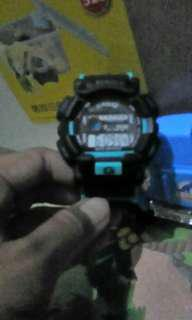 Murah nego jam tangan pria G-Shock ori green tosca black