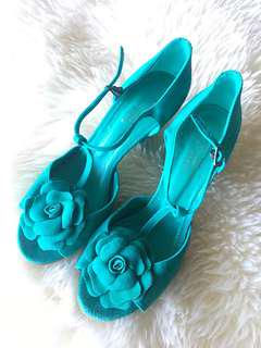 Beautiful Ladies Leather Suede Shoes - Size 40 (9) Made in Spain